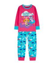 Mothercare Paw Patrol Pink And Blue Pyjamas