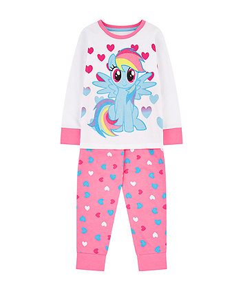 Mothercare My Little Pony Rainbow Dash Pyjamas