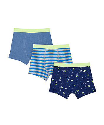 Mothercare Rocket Trunks - 3 Pack