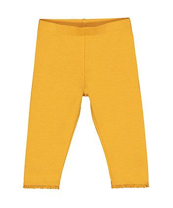 Mothercare Mustard Yellow Leggings