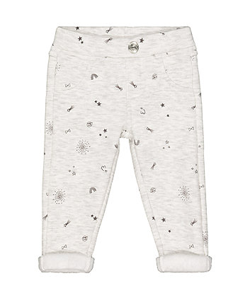Mothercare Grey Star Jeggings