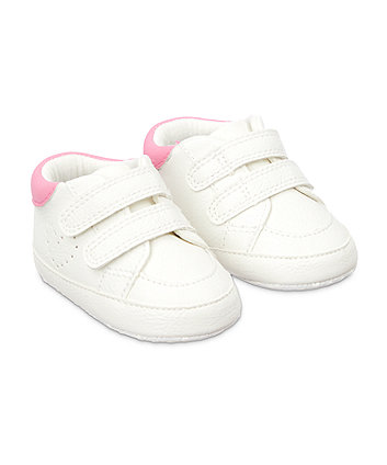 Mothercare Super Trainer Shoes - White