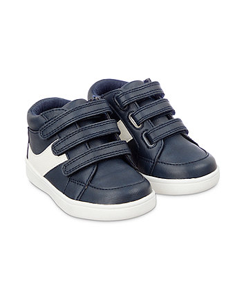Mothercare High Top Shoes - Navy