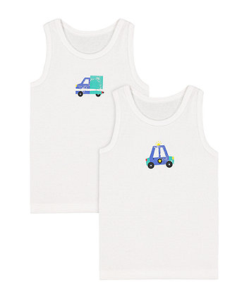 Mothercare Car Vests - 2 Pack