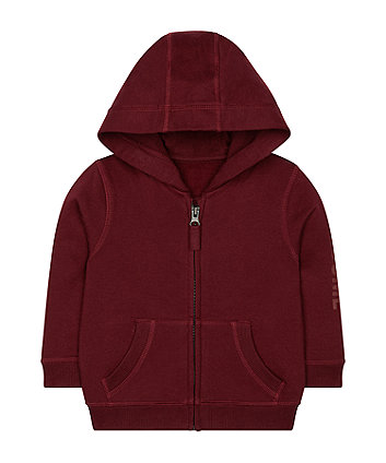 Mothercare Burgundy Awesome Hoodie