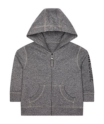 Mothercare Charcoal Awesome Hoodie