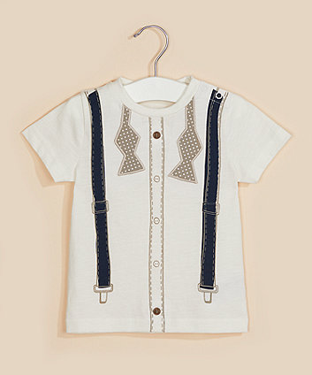 Mothercare Bow Tie T-Shirt