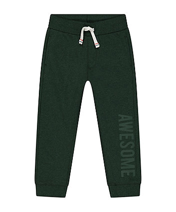 Mothercare Dark Green Joggers
