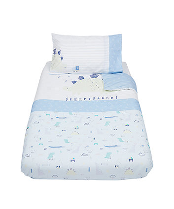 Mothercare Sleepysaurus Cot Bed Duvet Set