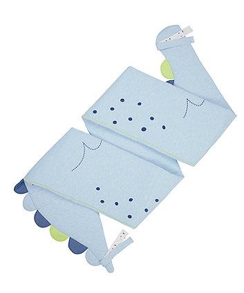 Mothercare Sleepysaurus Long Cot/Cot Bed Bumper