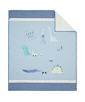 Mothercare Sleepysaurus Coverlet