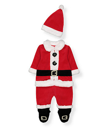 Mothercare Santa All In One With Hat