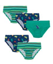 Mothercare Dinosaure Briefs - 5 Pack
