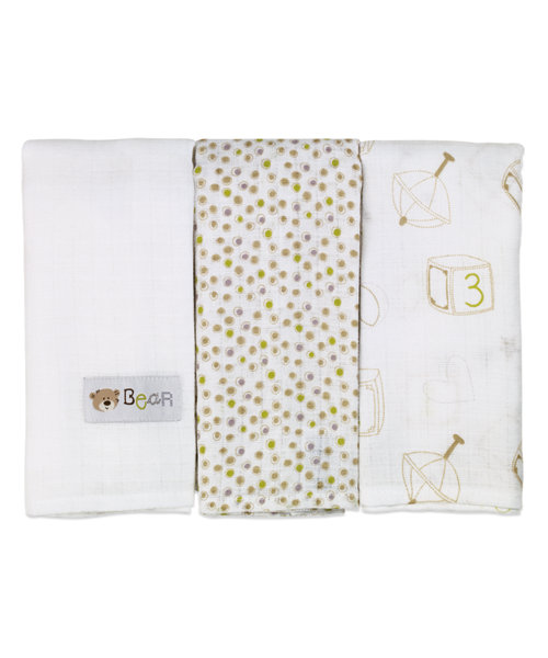 Mothercare Loved So Much Muslin - 3 Pack