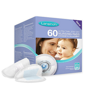 Lansinoh Disposable Nursing Pads - 60 pieces