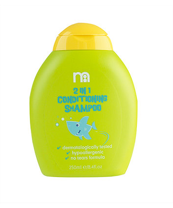 Mothercare Toddler 2 in 1 Conditioning Shampoo - Green 250ml