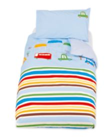 Mothercare Happy Town Duvet and Pillowcase Set
