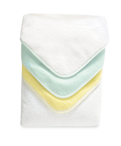 Mothercare Cuddle 'N Dry Pastel Towels - 3 Pack