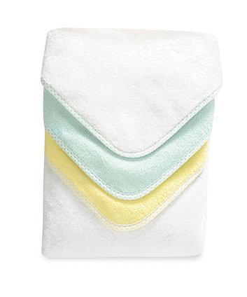 Mothercare Cuddle 'N Dry Pastel Towels - 3 Pack