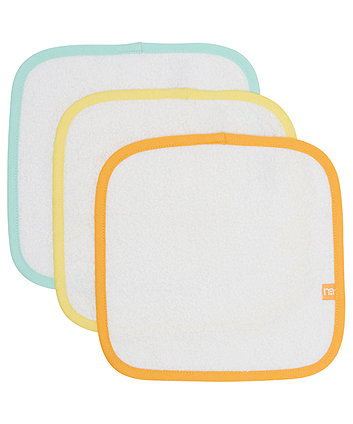 Mothercare Pastal Flannels - 3 Pack