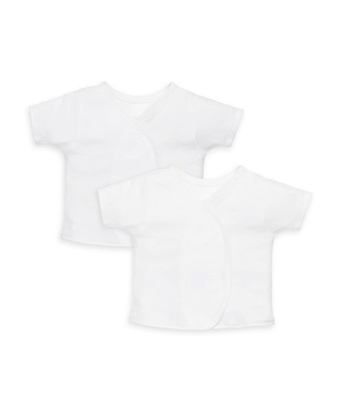 My First Short Sleeve Wrap Vests - 2 Pack