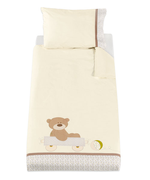 Mothercare Loved So Much Duvet Cover and Pillowcase - Cot/Cotbed