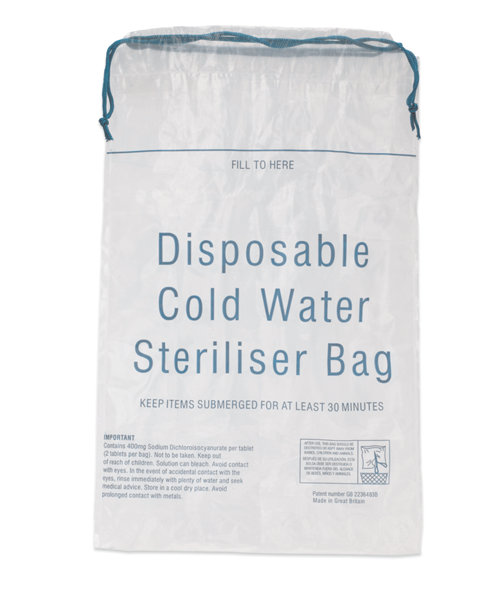 Innosense Cold Water Sterilising Bag - 7 Pack