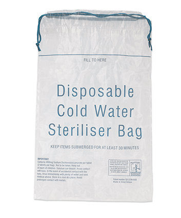 Innosense Cold Water Sterilising Bag - 7 Pack