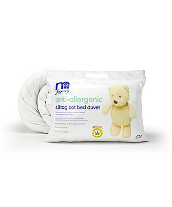 Mothercare Anti-Allergenic 4.0tog Cot Bed Duvet