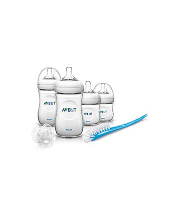 Bottle Feeding Feeding Philips Avent Natural Newborn Starter Bottle Set And Additional Teats