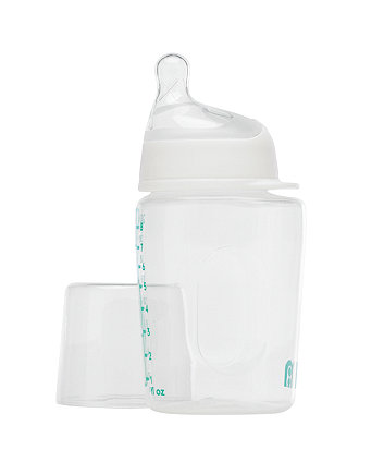 Mothercare Wide Neck Bottle - Clear 240ml