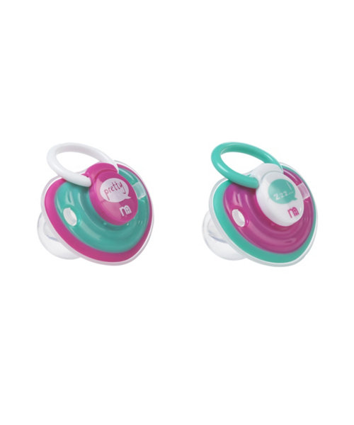Mothercare Soft Soothers - 2 Pack