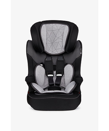 Mothercare Advance Xp Highback Booster Car Seat - Black/Grey