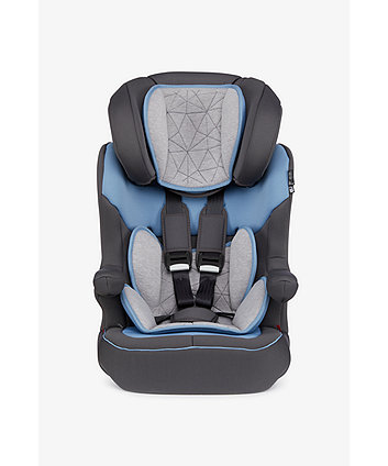 Mothercare Advance Xp Highback Booster Car Seat - Grey/Blue
