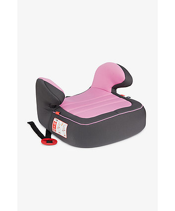 Mothercare Dream Booster Car Seat  - Grey And Pink