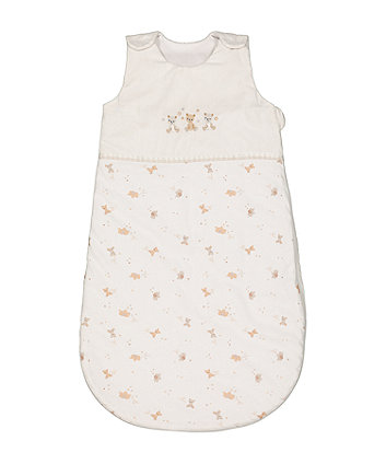 Mothercare Little And Loved Sleep Bag 1 Tog (0-6 Months)