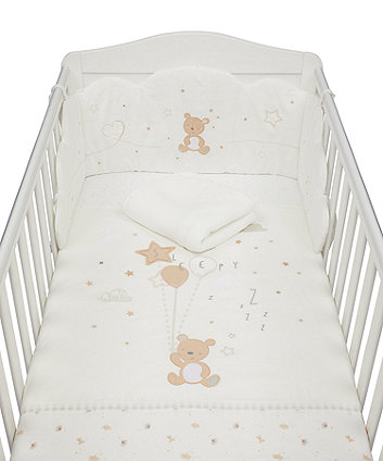 Mothercare Little And Loved Bed In Bag - 4-Piece