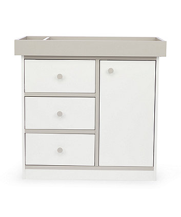 Mothercare Hartland Changing Unit - White/Grey