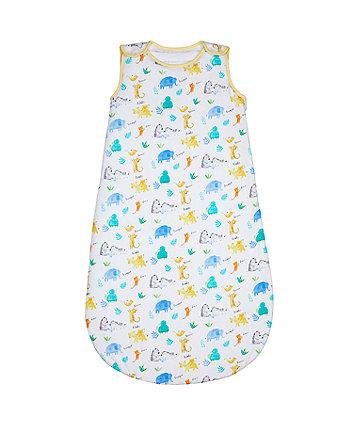 Mothercare Sleepy Safari Sleep Bag 2.5 Tog (0-6 months)