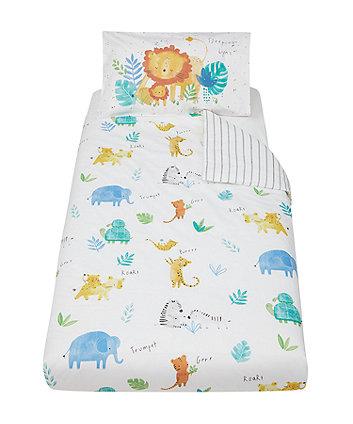Mothercare Sleepy Safari Duvet Set