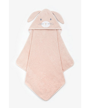 Mothercare Bunny Cuddle 'N' Dry Hooded Towel