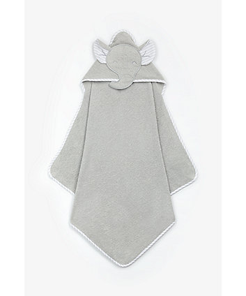 Mothercare Elephant Cuddle 'N' Dry Hooded Towel