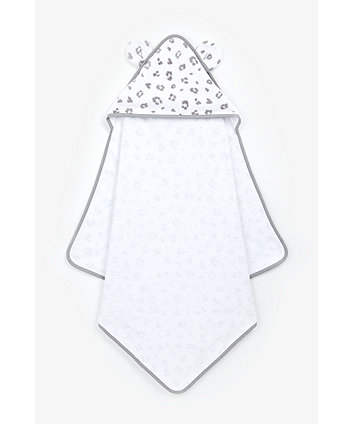 Mothercare Leopard Cuddle 'N' Dry Hooded Towel