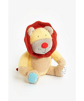 Mothercare Into The Wild Lion Plush Toy