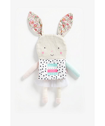 Mothercare Fairy-Tale Bunny Soft Book
