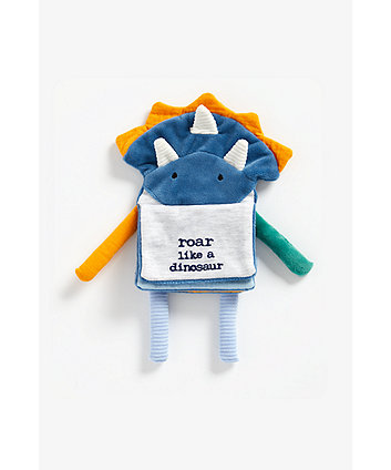 Mothercare Dinosaur Soft Book