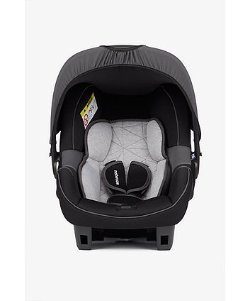 Mothercare Ziba Group 0+ Baby Car Seat - Grey/Black