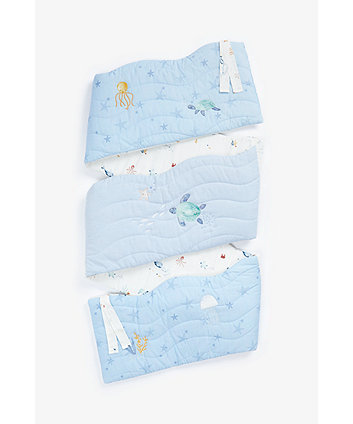 Mothercare You, Me And The Sea Long Bumper