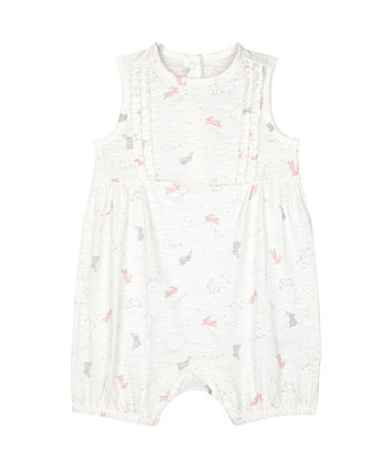 Mothercare My First Little Bunny Rompers