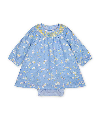 Mothercare Blue Floral Dress